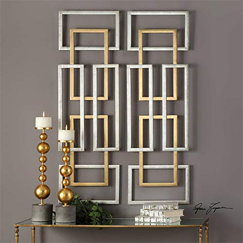 Uttermost Metal Wall Decor Set - Uttermost Aerin 50 3/4