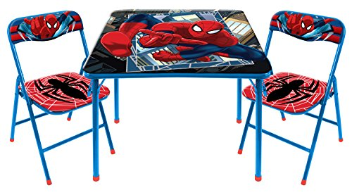 Marvel Spider-Man 3-Piece Table and Chair Set ()