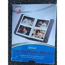 "RadioShack Deluxe Talking Photo Album Holds 36 4 x 6"" Photos"