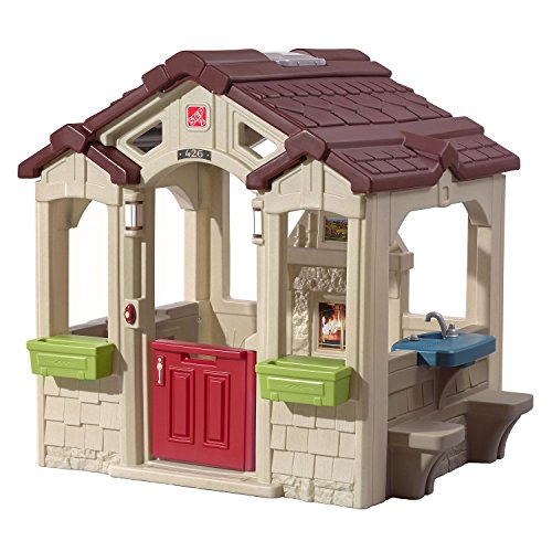 Step2 Charming Cottage Playhouse Large Open Playhouse Multip