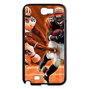 Samsung Galaxy Note 2 7100 Black Cell Phone Case Cincinnati Bengals NFL Phone Case Fashion NLYSJHA1160 by kobestar