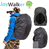 Joy Walker Waterproof Backpack Rain Cover for (15-90L), Upgraded (Anti-Slip) Buckle Strap & Strengthened Layer for Hiking Camping Traveling Cycling
