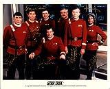 Star Trek Cast Signed Autographed 8 X 10 Reprint Photo - Mint Condition