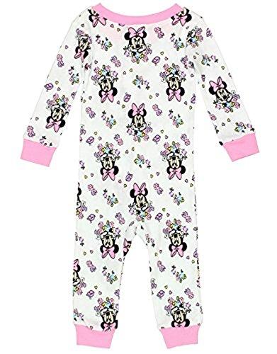 Minnie Mouse Girls Sleeper Pajamas
