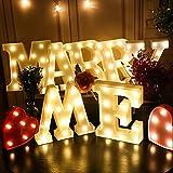 Takefuns Decorative LED Illuminated Letter Marquee