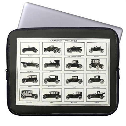 Neoprene Laptop Sleeve Eratio Roadster Dad 15 Inch MacBook Air Case MacBook Pro Sleeve and 15 Inch Laptop Bag