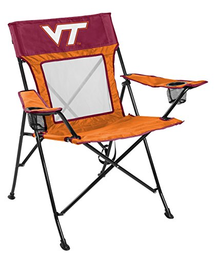 Rawlings NCAA Virginia Tech Hokies Unisex 00643111111NCAA Game Changer Chair (All Team Options), Red, Adult