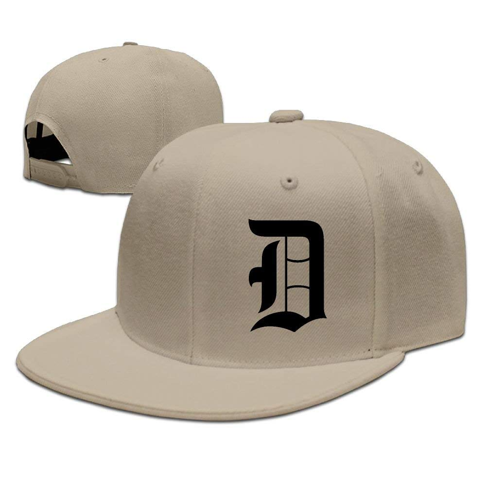 Bidetu Viejo Inglés D Gorra de béisbol de Detroit Easy Ajustable ...