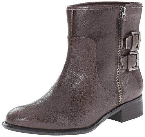 Boot Dark Justthis West Grey Nine Women's Leather OXIwvx