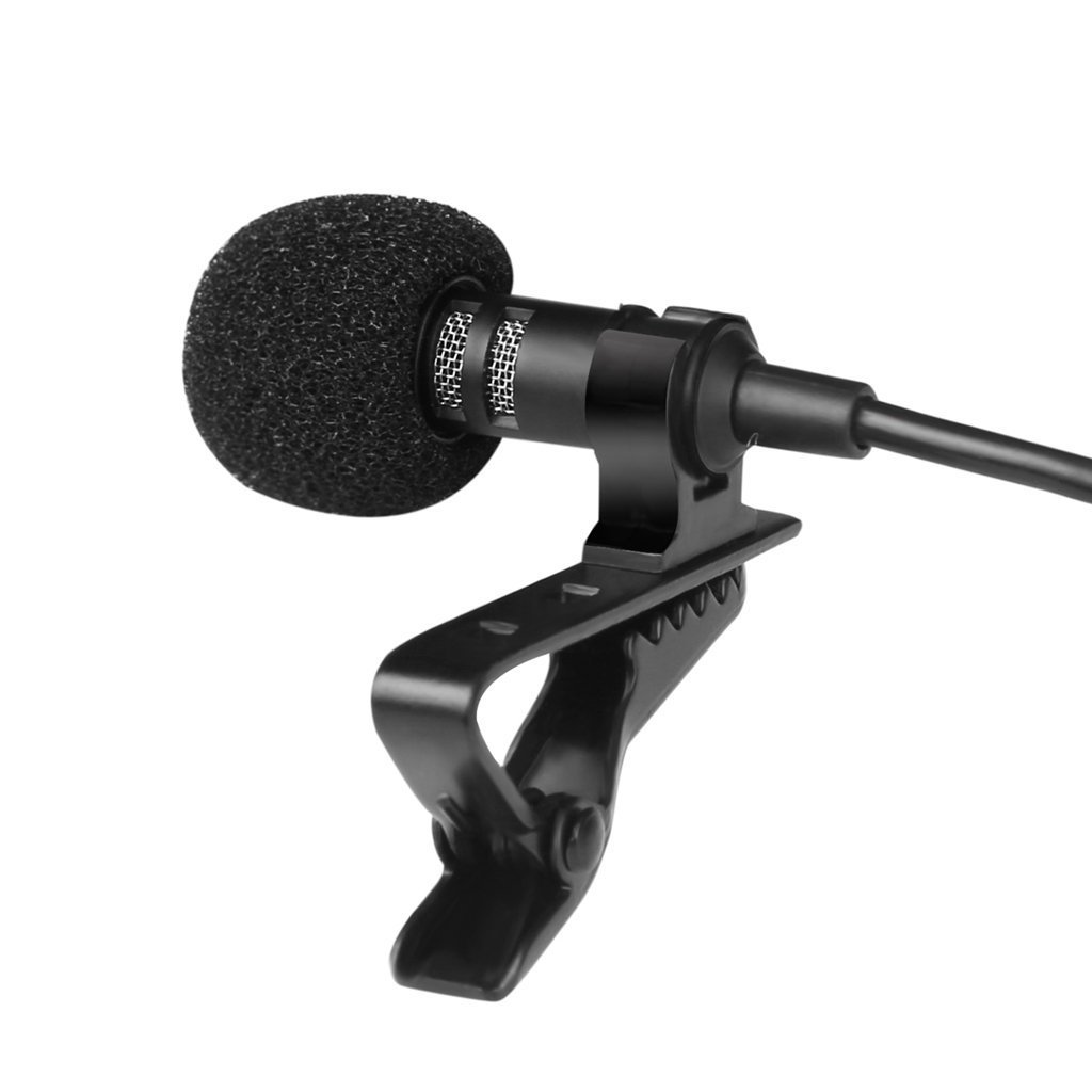 CandyQ Omnidirectional Clip-on Condenser Microphone for Apple iPhone iPod Touch Samsung Android and Windows Smartphones Film Interviews Voval Video Recording iPad