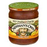 Newman's Own: Mango Medium Salsa, 16 oz - 5 Pack