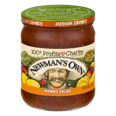 Newman's Own: Mango Medium Salsa, 16 oz - 5 Pack by Newman's Own: