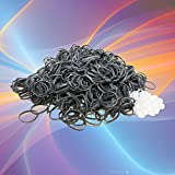 Loom Refill 600 Bands & 25 S Clips Rubber Silver Band Bracelet Kids Craft