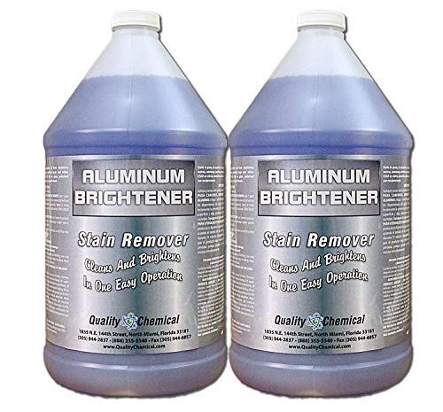 (Aluminum Cleaner & Brightener & Restorer (2 gallon case))