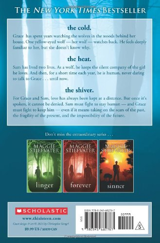 Amazon Shiver 9780545682787 Maggie Stiefvater Books