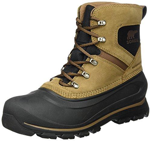 Sorel Men's Buxton LACE Snow Boot, Delta, Black, 13 D US ()