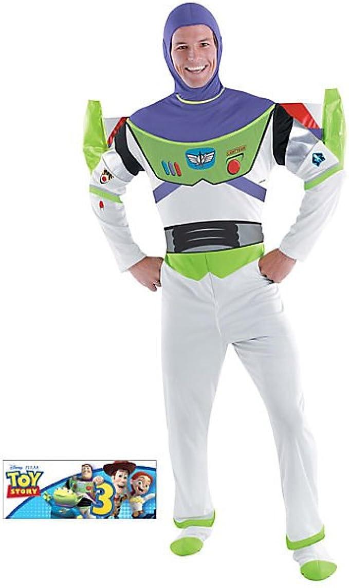 Tama-o Disguise DI50549-XL para hombre Deluxe Buzz Lightyear ...