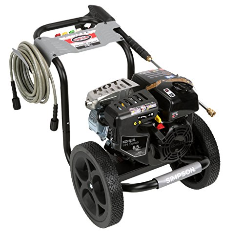 Simpson Cleaning MS60763-S 3100 PSI at 2.4 GPM Gas Pressure Washer Powered by KOHLER with OEM Axial Head Pump