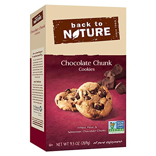 Back to Nature Non-GMO Chocolate Chunk Cookies, 9.5 Ounce