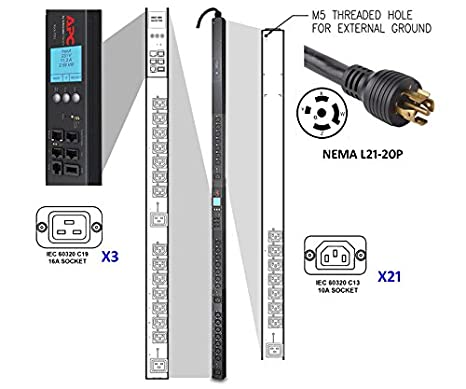 Amazon.com: APC AP8961 rack PDU 2 G Switched ZeroU, 5.7 kW ...