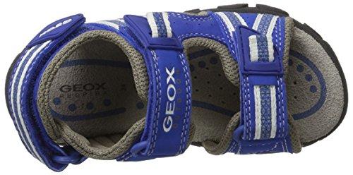 Geox Jr Sandal Strada a, Sandalias Para Niños Azul (Royal/White)