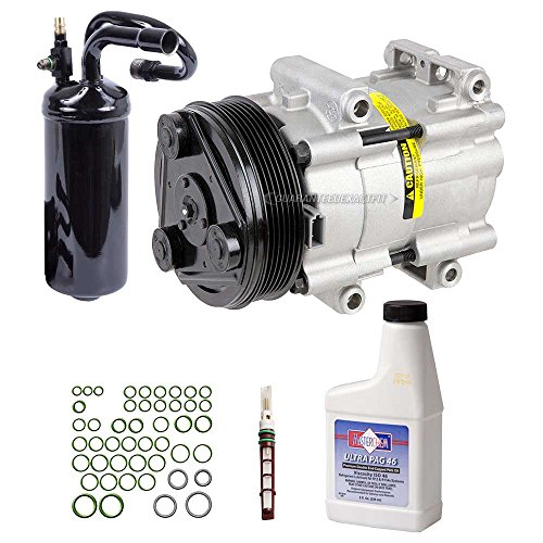 New AC Compressor & Clutch With Complete A/C Repair Kit For Ford Ranger Explorer - BuyAutoParts 60-80127RK (Ranger Air Conditioning)