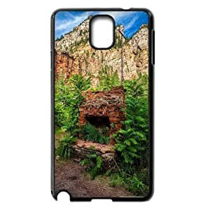Sexyass House Ruins Cases for Samsung Galaxy Note 3 Girl Protective, Case for Samsung Galaxy Note 3 for Girls for Girls with Black