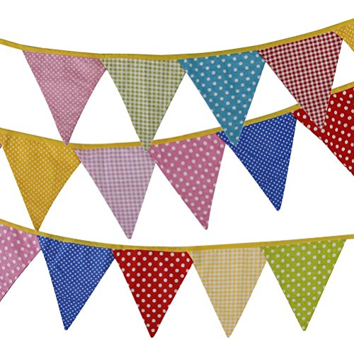 Tinksky Bunting Banners Birthday Party Dot