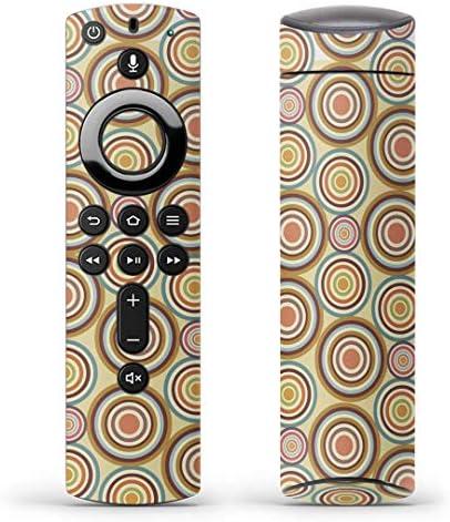 igsticker Fire TV Stick 第2世代 専用 リモコン用 全面 スキンシール フル 背面 側面 正面 ステッカー ケース 保護シール 000469 その他 バブル カラフル