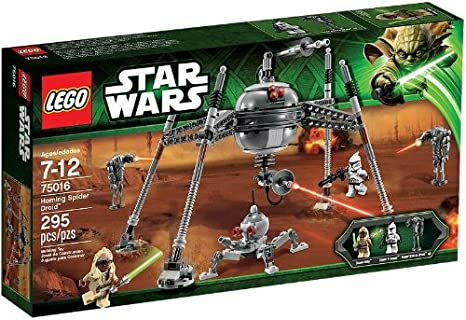 NEW LEGO Star Wars Headdress Stass Allie x1-75016 Homing Spider Headgear