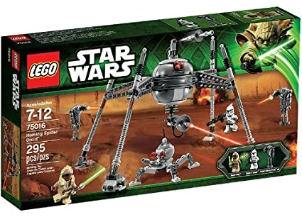 Amazon Lego Star Wars Homing Spider Droid 75016 Toys Games