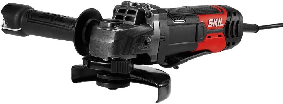 SKIL 8 Amp Corded Angle Grinder- AG242001