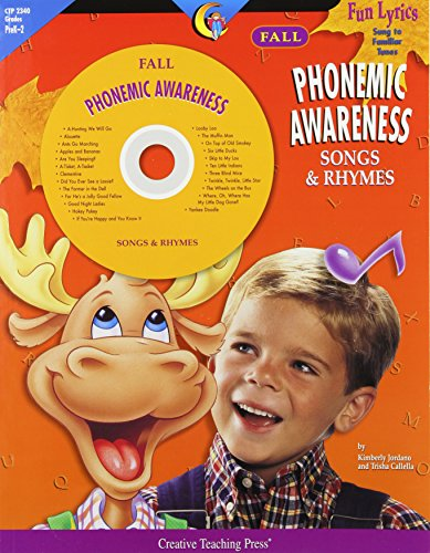 Fall Phonemic Awareness Songs & Rhymes: Fun Lyrics Sung to Familiar - Rhymes Awareness Phonemic