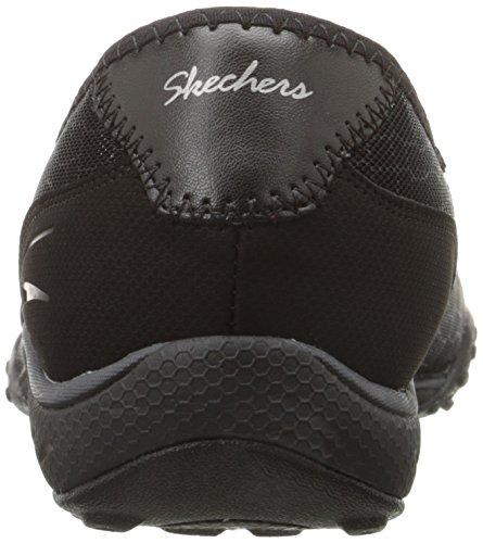 Skechers Sport Vrouwen Goed Leven Fashion Sneaker Zwart Gaas