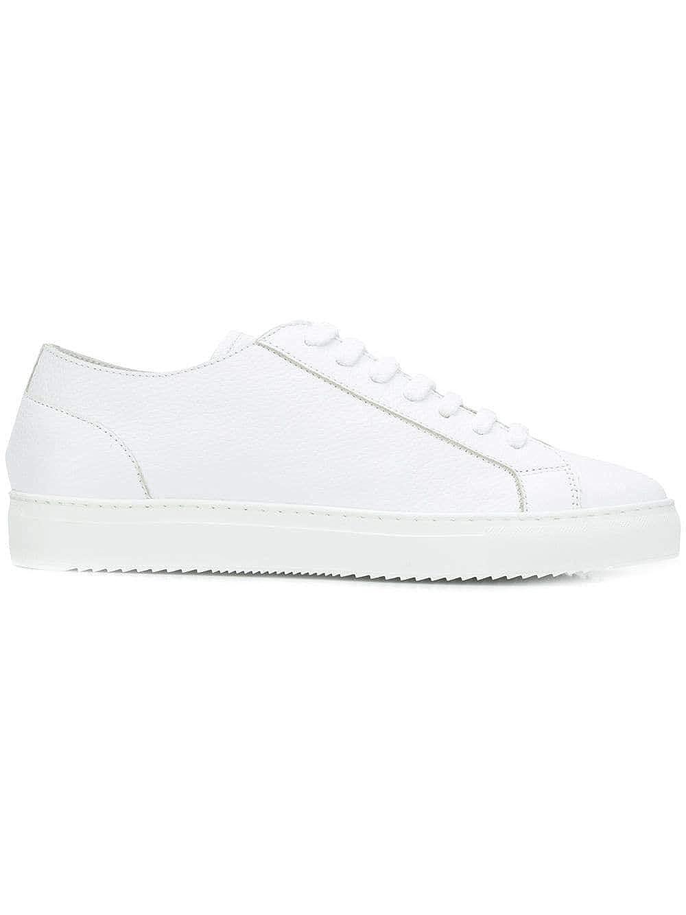 - DOUCAL'S Men's DU2335ERICUZ109IW00WHITE White Leather Sneakers