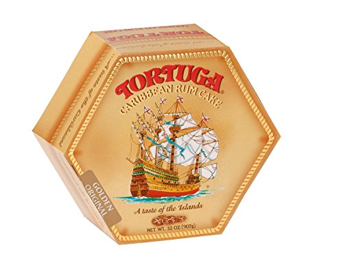 TORTUGA Caribbean Original Rum Cake with Walnuts - 32 oz. - The Perfect Premium Gourmet Gift
