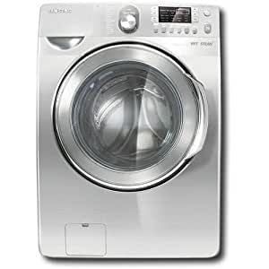 Samsung : WF448AAW 4.5 cu. ft. Steam Front Load Washer - Neat White