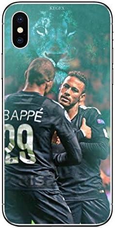 Neymar Jr Coque iPhone 5 SE Meilleur footballeur Mbappe Neymar ...
