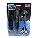 Beard Trimmers Kit for Men- 4 Piece Beard