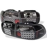 Spyder Honda Civic 92-95 2/4DR LED Tail Lights - Black