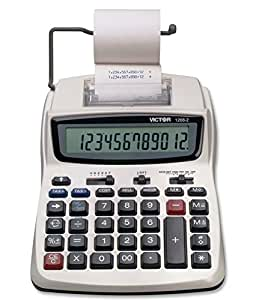 Victor Technology 1208-2 Business Calculator, White