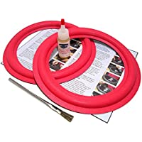 Cerwin Vega 10 Speaker Foam Surround Repair Kit - Fits AT10, D2, D3, DX3, DCW10, RE-25, U103, VS100 Many More - 10 Inch