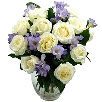 Clare Florist Breathtaking Amethyst Bouquet With FREE Delivery