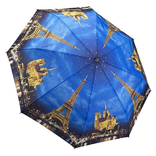 Galleria Paris-City of Lights Folding Umbrella -