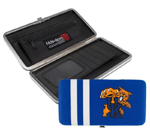 NCAA Kentucky Wildcats Shell Mesh Wallet (Wildcats Purse)