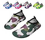 Luwint Boys Girls Quick-Dry Water Shoes Cool Kids