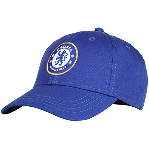 Official Soccer Merchandise Adult Chelsea FC Core Baseball Cap (One Size) (Royal Blue) -