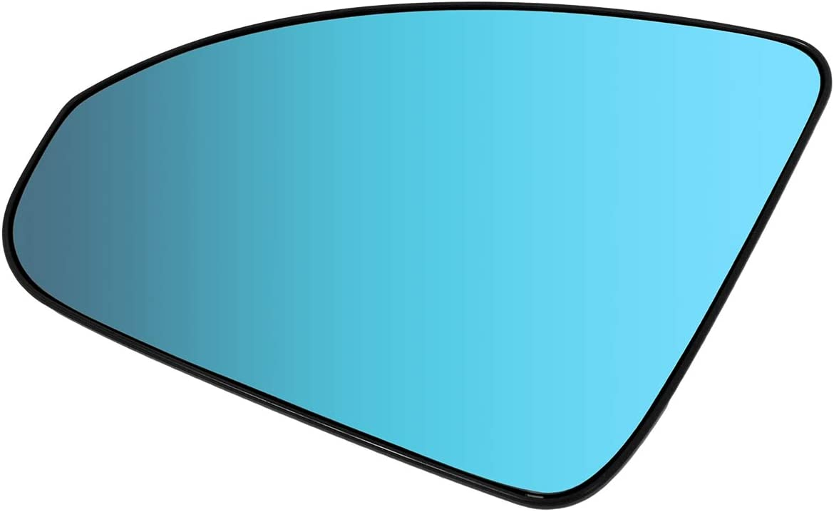 DNA Motoring OEM-MG-0527 Factory Style Left Side View Mirror Glass Plate