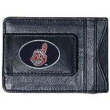 MLB Cleveland Indians Leather Cash and Card Holder
