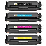 CMCMCM Compatible Toner Cartridge Replacement for 410X CF410X CF411X CF412X CF413X Work for Color LaserJet Pro M452dn M452nw M452dw M377dw, MFP M477fdn M477fdw M477fnw